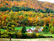 Autumn colors in Vermont