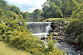 North Bennington Village Waterfalls
